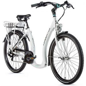Leader Fox Holand, elektrische fiets, e-bike met lage instap, elektrische fiets lage instap, elektrische fiets lage instap wit, leader fox ebike, ebike gespreid betalen, ebike leasen, ebike financial lease, ebike op afbetaling